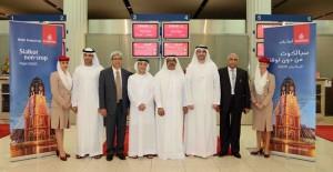 Emirates-SKT inaugural delegation