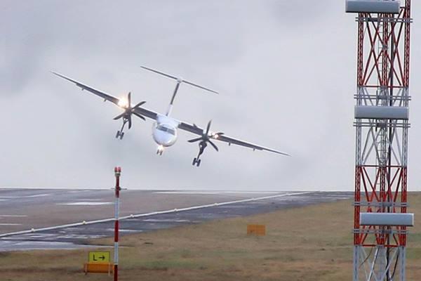 Airplane-high-wind-landing