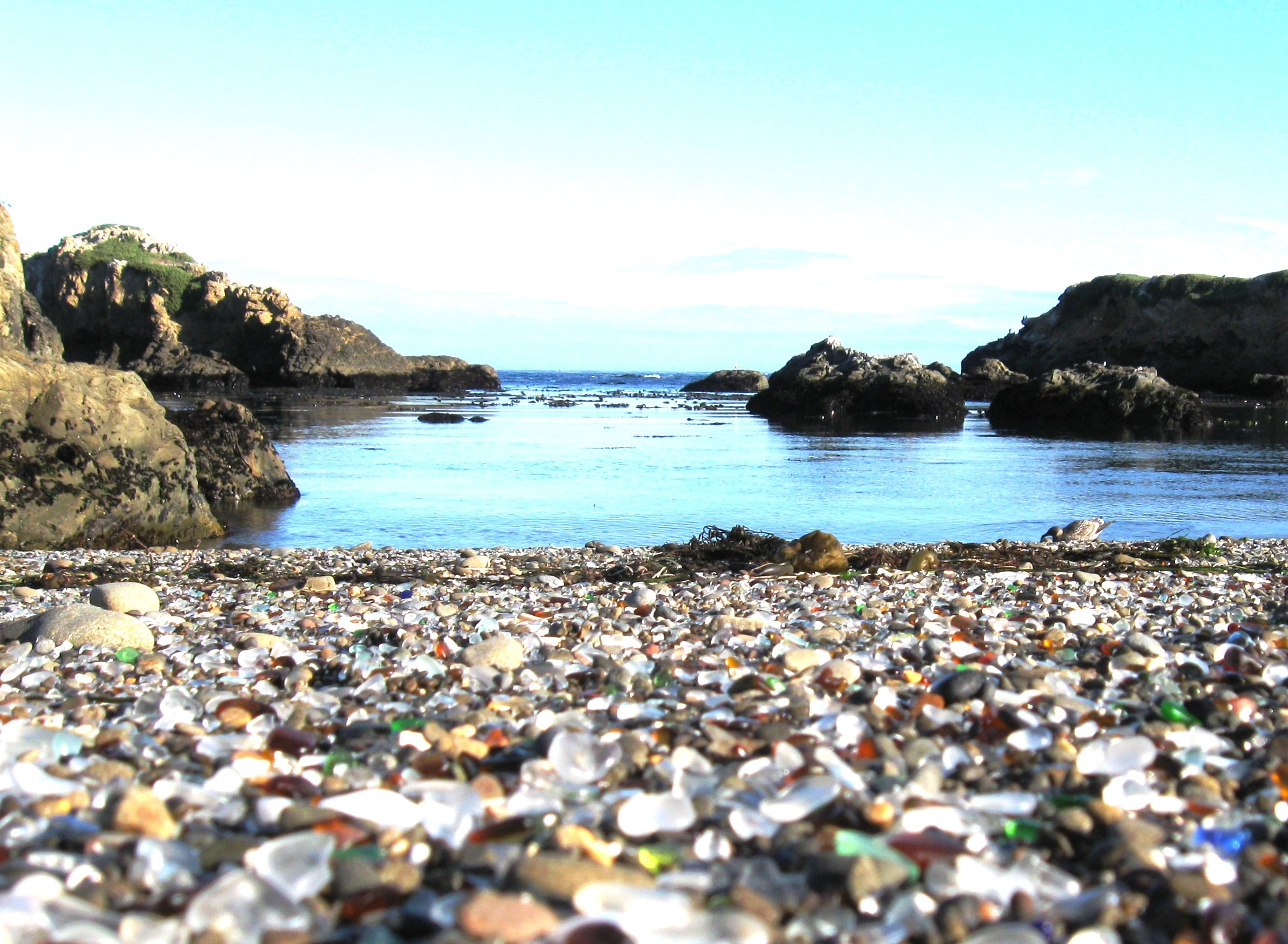 Glass Beach Poster 2 photo