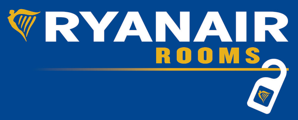 RYANAIR ROOMS logo