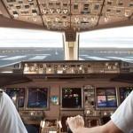 Pilots landing