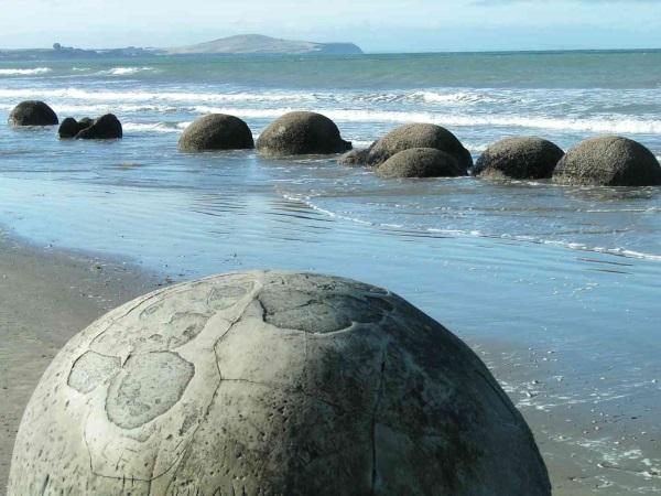 Παραλία Moeraki Boulders – Nέα Ζηλανδία