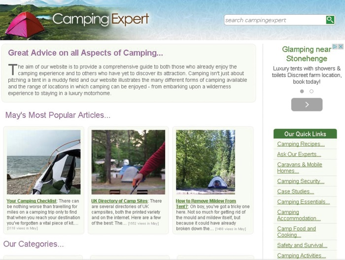 7.www.campingexpert.co.uk